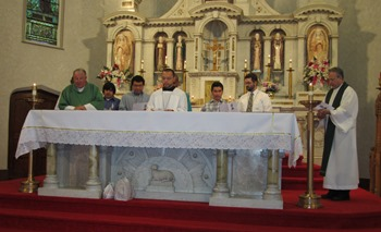 New Year Begins At Bishop Fallon Formation Community Omiusa